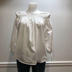 H&M White off the shoulder blouse